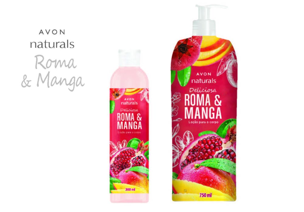 AVON NATURALS BRAZILIAN LINE GRAPEFRUIT AND MANGO